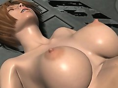 Bigtitted 3D porn babe done in every crazy position possible